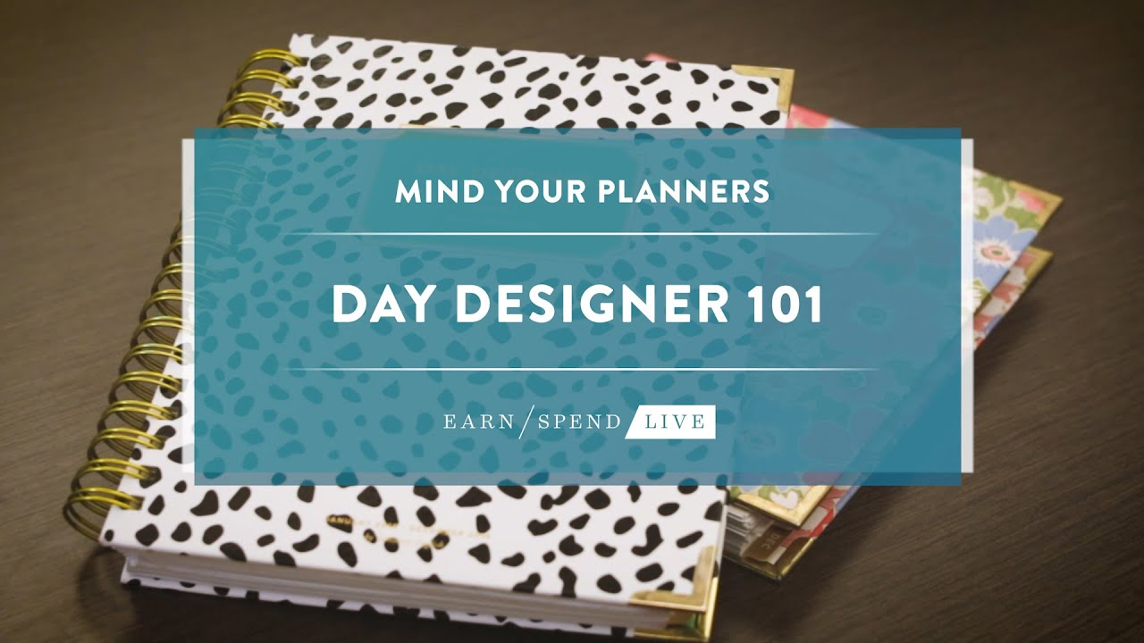 graphic regarding Day Designer Planners called Working day Designer 101
