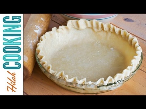How to Make Pie Crust  Homemade Pie Crust  Hilah Cooking