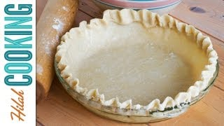 Easy Homemade Pie Crust Recipe ~ How To Make Pie Crust