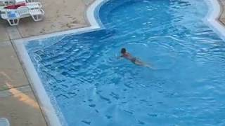 Drunk russian on all inclusive vacation!