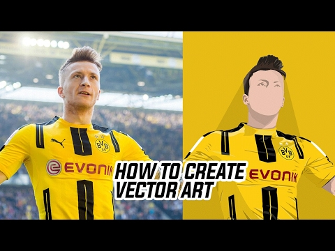 How To Create Vector Images in 4 Steps   Photoshop Tutorial  