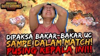 DIPAKSA B4K4R UC SAMPE KEDALAM GAME!! AMPUNN!! | PUBG MOBILE