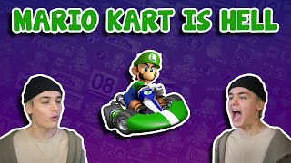 Baixar playing mario kart and having a mental breakdown