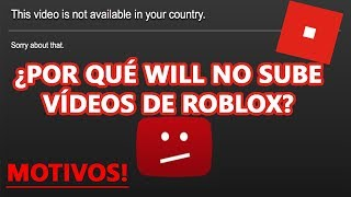 because it Will not upload videos of Roblox? REASONS!