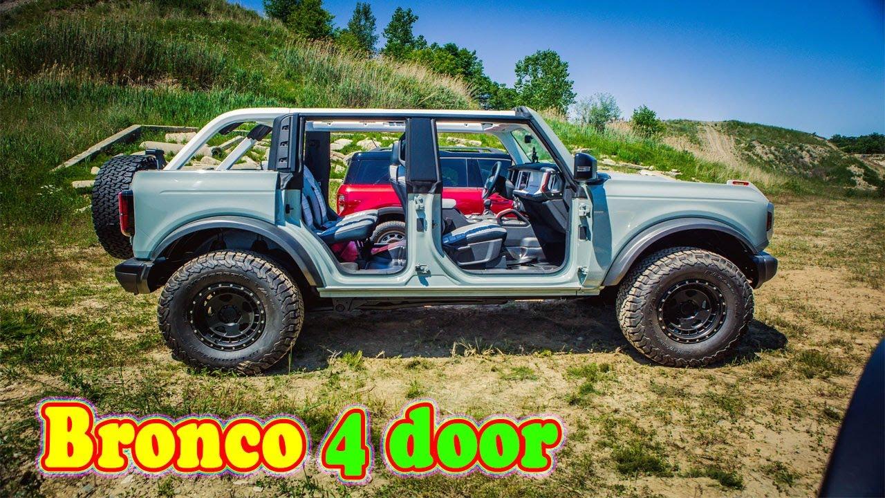 2021 Ford Bronco 4 Door suv | 2021 Ford Bronco 4 Door 4x4 ...