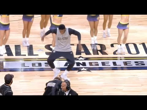Dances From Victor Oladipo / Feb 17 / 2018 NBA All Star Practice