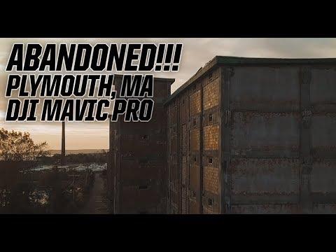 Plymouth, MA Abandoned Industrial Building | DJI Mavic Pro