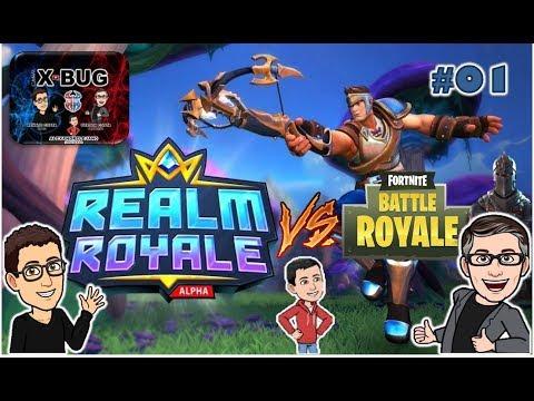 REALM ROYALE #01 VS FORTNITE