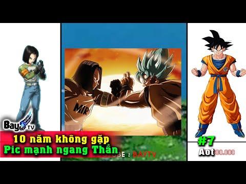 Tất cả Nhân Vật từ Yếu Đến Mạnh Nhất - Tiến Hóa Sức Mạnh Dragon Ball Super 【Phần 7】