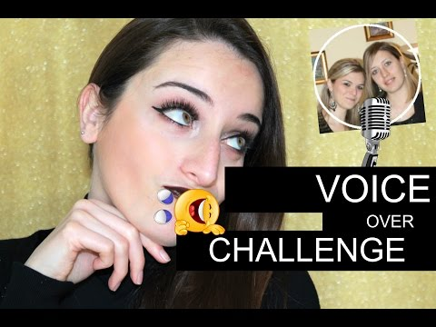 MY FRIENDS DOES MY VOICE OVER CHALLENGE | Ita |