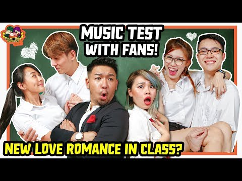 Cute Couple in Love  Test with Fans