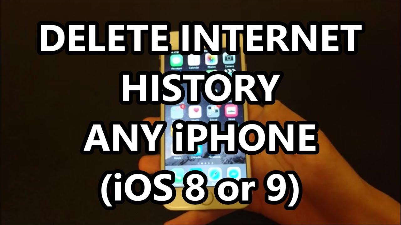 Iphone 6s Delete Website Internet History Safari All Methods How To Any Iphone  Ios 8 Or