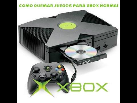 Como Quemar Juegos Para Xbox Normal Youtube