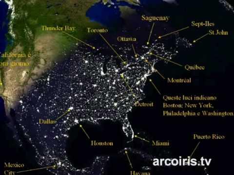 La Terra vista dal satellite