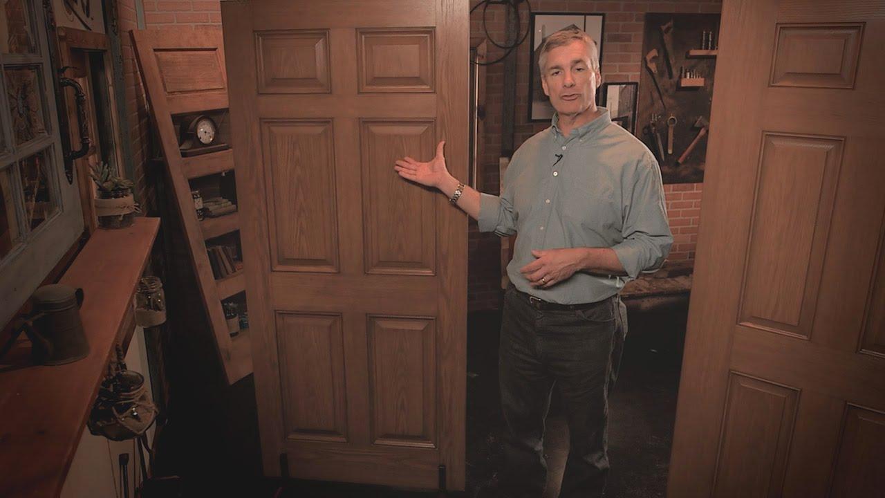 Premium fiberglass door design reeb youtube for Reeb fiberglass exterior doors