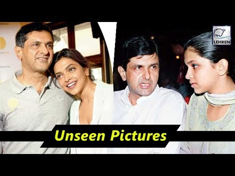 Deepika Padukone's Unseen Pictures With Father Prakash ...