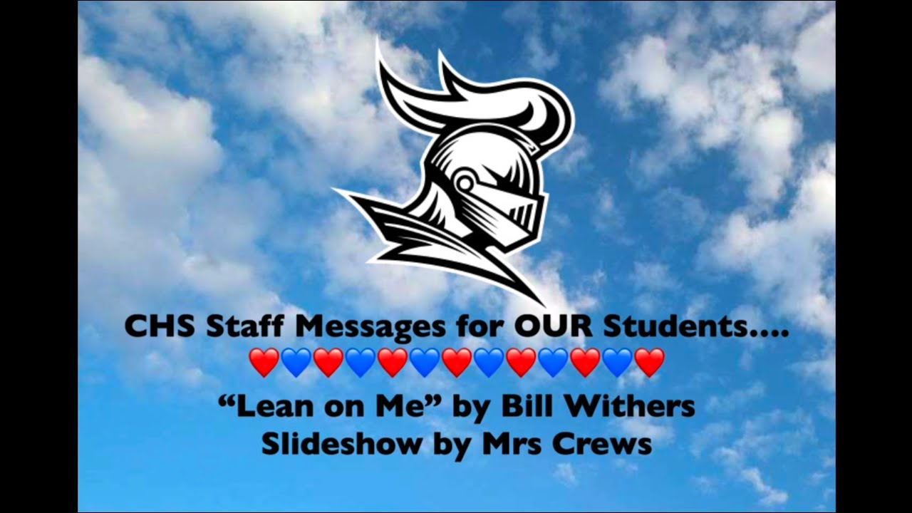 CHS Staff 2020 Messages
