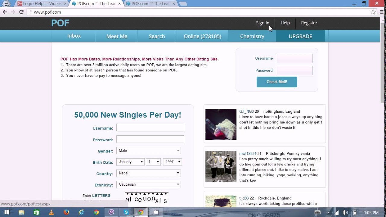 pof dating inbox Inbox gifts are purchased with login points and appear plenty of fish review (pofcom) | 733 this is what you face with online dating, pof or otherwise.