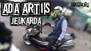 Artis ibukota datang | Ngetest bentar Yamaha Xabre | Funtastic Friday! (Diary #19)