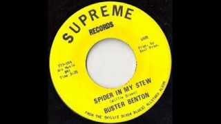 Buster Benton - Spider in My Stew