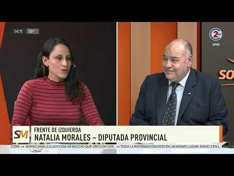 Sobremesa: Alejandro Vilca y Natalia Morales