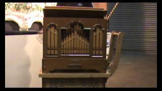 20 Note Fussell Street Organ plays Hiddo van Os Arrangements