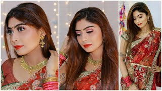 करवा चौथ Makeup Look 2019 |  Makeup For Beginners Karwa chauth/Diwali Special | Rinkal Soni