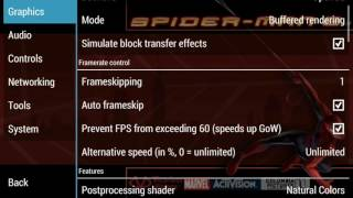 Spider man 2 game settings in ppsspp gold