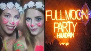 Follow me around: Thailand, KOH PHANGAN | Full Moon PARTY, Food, Strand, Fun | Backpacking Haad Rin