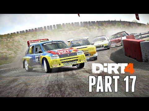 Dirt 4 Career Mode Walkthrough Part 17 - Group B Rallycross Cup (PS4 Pro Gameplay)