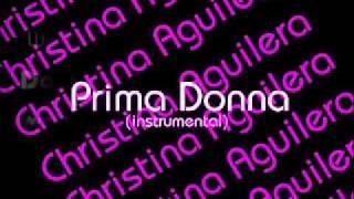 Christina Aguilera - Prima Donna ( instrumental )