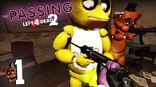"""Left 4 Dead 2 con Mods: The Passing (#1) """"Damn Witch"""" -  Momentos Graciosos!"""