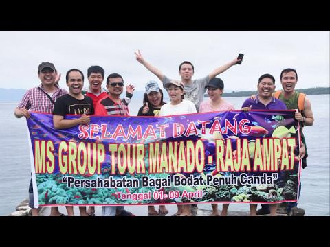 Tour MS, Manado, 1 - 3 April 2017