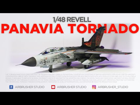 1/48 Revell Tornado IDS Full Build