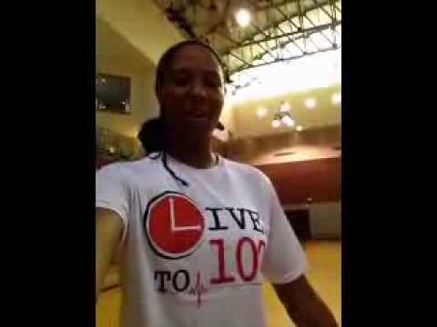 Chamique Holdsclaw  - Live To 100 - Play Hard, Live Long