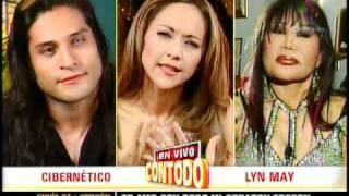 CIBERNETICO DISCUTE CON LYN MAY EN PROGRAMA DE TV EN VIVO