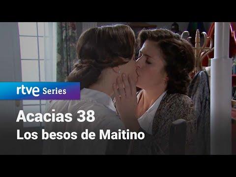 Acacias 38: Todos los besos de Maite y Camino #Acacias38   RTVE Series