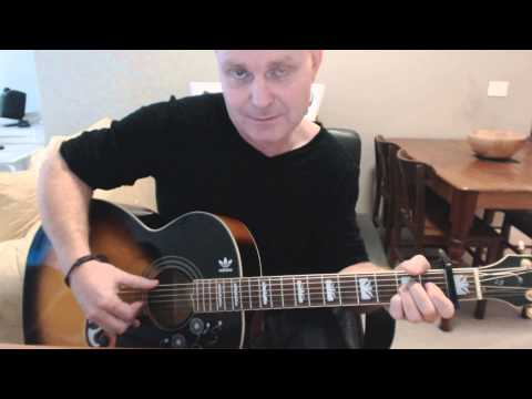 ♪♫ Bob Dylan - I'll Be Your Baby Tonight (Tutorial)