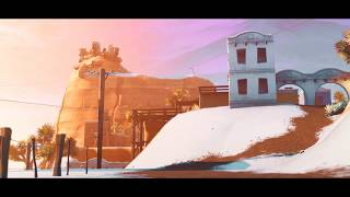 Fortnite - Christmas/SNOW MAP Overview (Cinematic Pack #9)