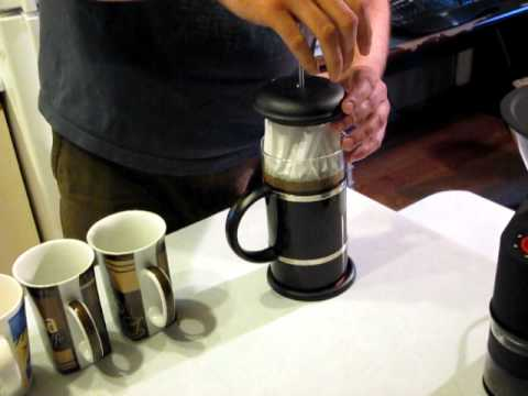 howto make super clean french press coffee youtube. Black Bedroom Furniture Sets. Home Design Ideas