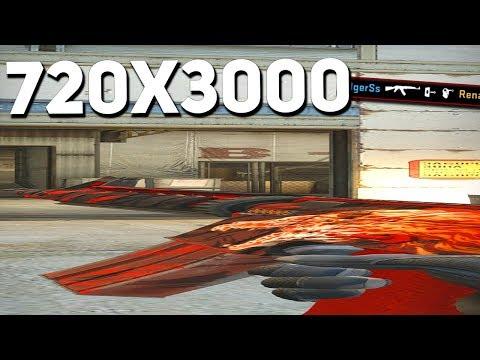 720x3000 — ТОЛЬКО 0.001% КСЕРОВ ИГРАЛИ НА ТАКОМ РАЗРЕШЕНИИ В CS:GO
