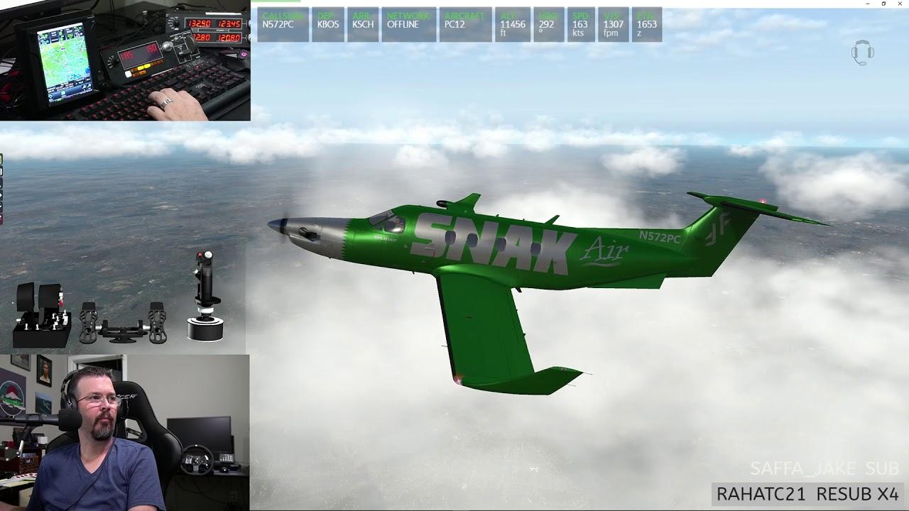 PC-12 New REP Pack - GTN750 - FSEconomy for Snak Air