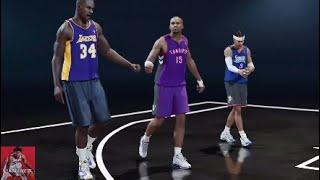 NBA LIVE 19 | Opening Game | SHAQ, Vince Carter & Allen Iverson vs. Current NBA & WNBA Stars