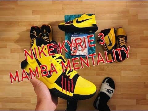 Nike Kyrie 3 Mamba Mentality | Kicksologists.com