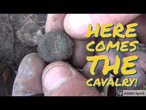 SC Low-Country Metal Detecting Produces Rare Confederate Relics! Teknetics