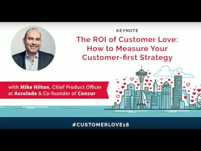 Post for video 'Accolade, Concur, and the ROI of Customer Love