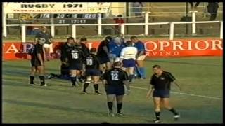 Rugby Italy vs Georgia 2nd half 2003