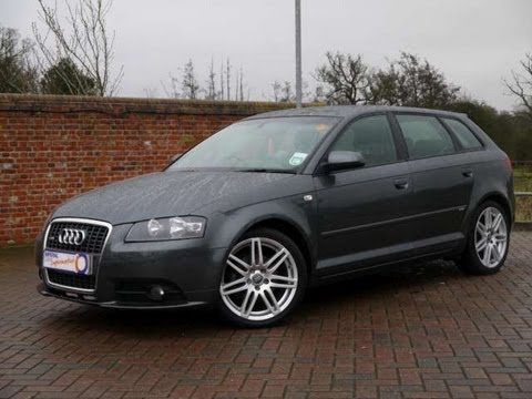 2007 audi a3 s line 1 8tfsi sportback dsg for sale in hampshire youtube. Black Bedroom Furniture Sets. Home Design Ideas