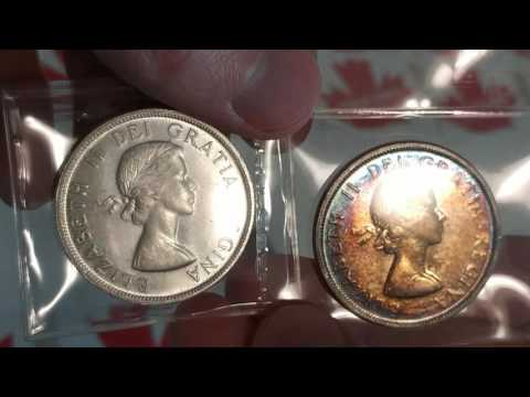 Coin Collecting Episode 120 - Canadian Silver Dollars Featured On EBay By Www.coinsofcanada.ca