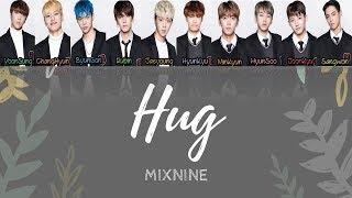Video MIXNINE HUG LYRICS (TVXQ) HAN/ROM/ENG download MP3, 3GP, MP4, WEBM, AVI, FLV Juli 2018